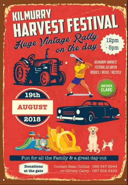 2018 Harvest Festival Field Day set for Sunday 19th August…