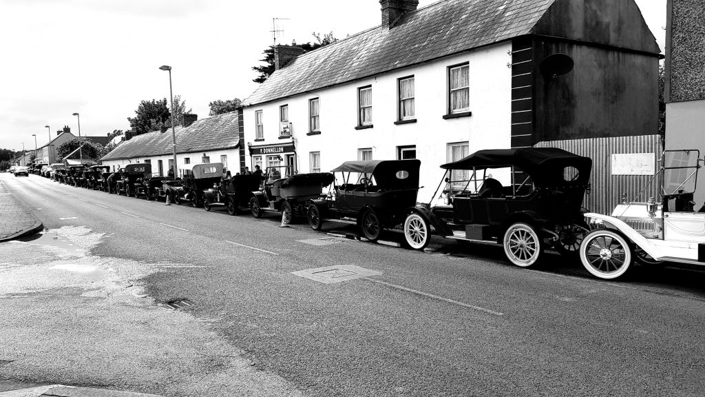 Veteran Car Rally lands in Kilkishen (16-08-2019)