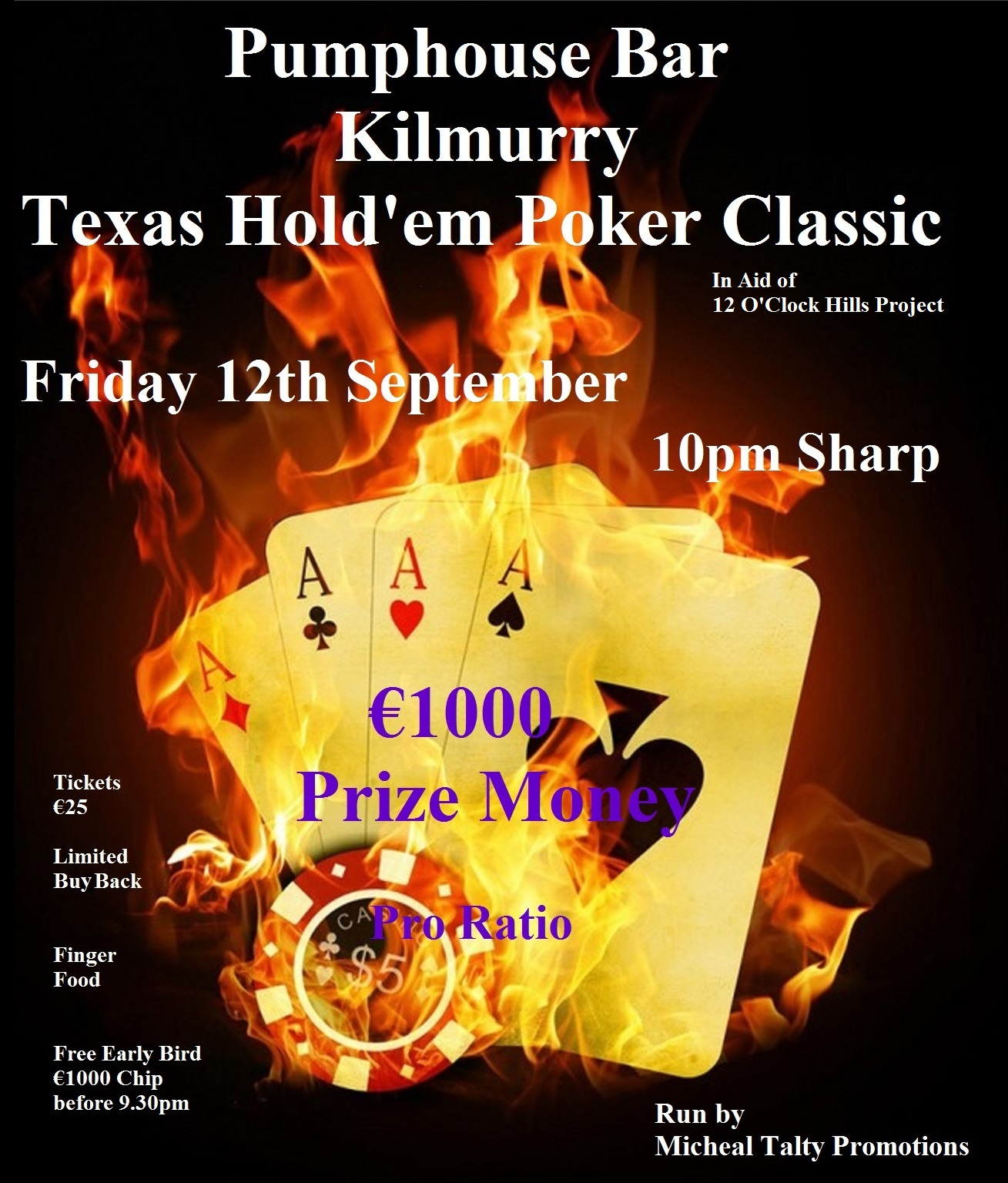 Poker Night Kilmurry