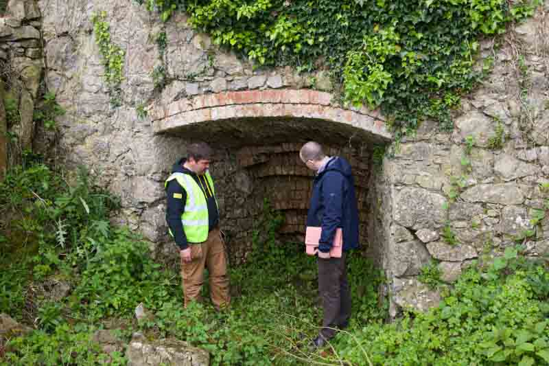 Lime Kiln was in operation up to mid 1930s it seems…