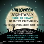 12 O'Clock Hills Halloween Night Walk this Saturday Night…