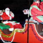 Santa to Turn on the Lights Saturday Evening @ 7.30pm…