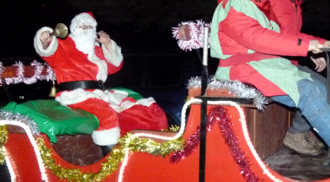 Santa in Kilmurry 2011