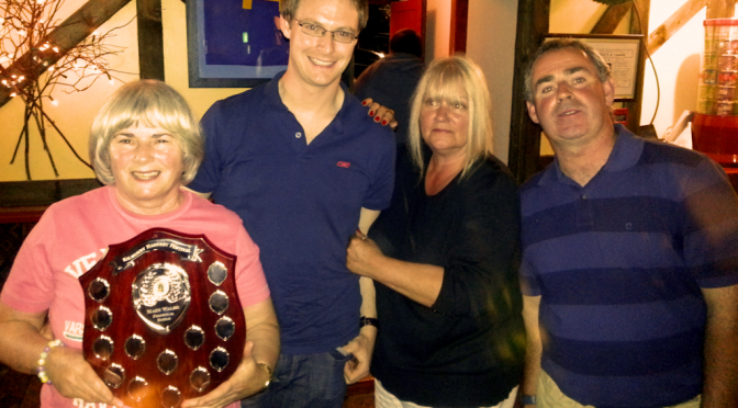Mary, Jim, Hazel and Jimmy winners of the 2012 Festival Quiz..
