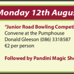 Festival Events for Monday 12th August 2013…