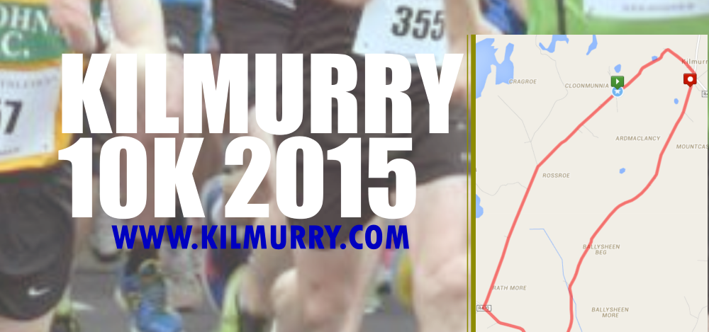 2015 Kilmurry 10k Road Race Details Announced..