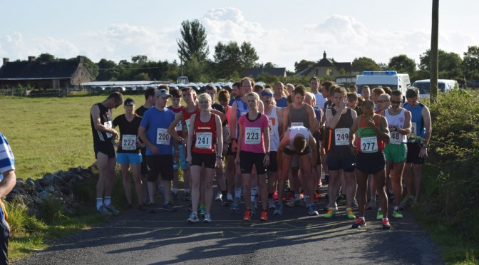 Fine Weather makes for a great 10k Run in Kilmurry.