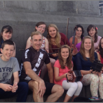 Kilmurry Musicians meet Sean Kelly Cycling Legend Sean Kelly as Tour de Munster rolls into Clare.