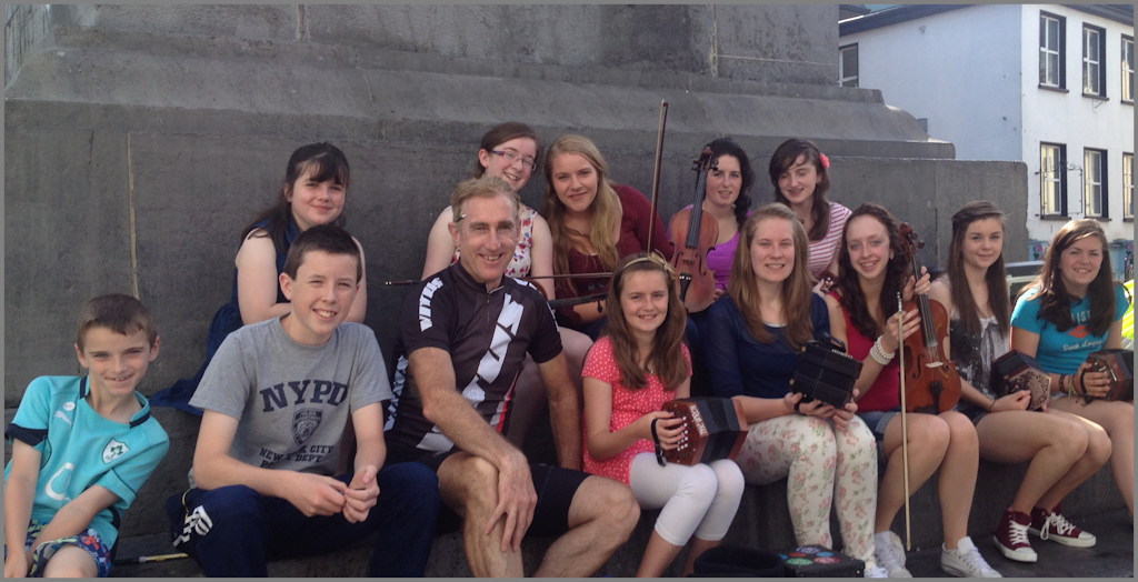 "Kilmurry Trad Group Performing at ""The Height"" in Ennis for Irish Cycling Legend Sean Kelly."