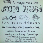 Kilmurry Vintage Vehicles FUN RUN in aid of Childrens Hospital.