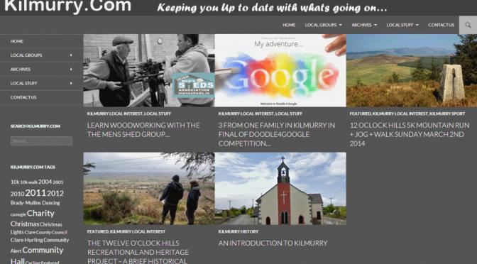 Kilmurry.Com Website Gets New Facelift…