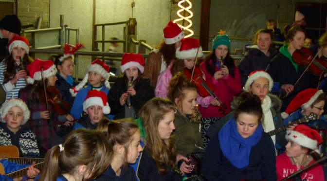 Kilmurry Trad Group to kick off Christmas Season in the Pumphouse.