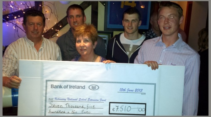 Kilmurry National School Fundraiser Draw 2013
