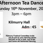 Put on your dancing shoes for the afternnon tea dance.