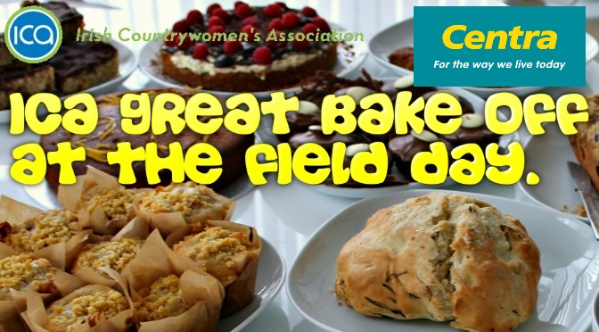 Great Irish BakeOff at Harvest Festival Field Day Sponsored by Centra SMB…