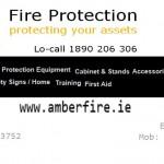 AmberFire Protection Ltd are official sponsors for Kilmurry.Com Website for Harvest Festival 2014.