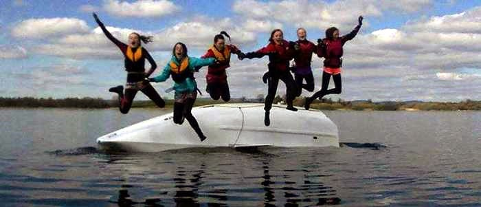 EASTER JUNIOR SAILING CAMP ON 30th MARCH AT CULLAUN LAKE