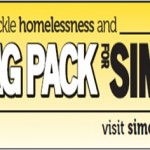 Help Tackle Homelessness and Bag Pack for Simon….