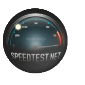 Click here to test your internet speed.