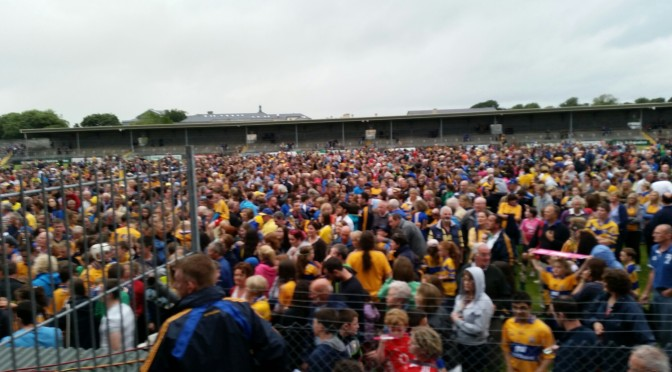 Well done to Clare on u 21 munster final win.