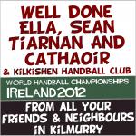 Kilmurry Represented in World Handball Championships in Dublin.