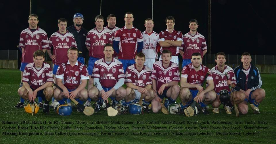 Kilmurry Ready For Parish League 2014