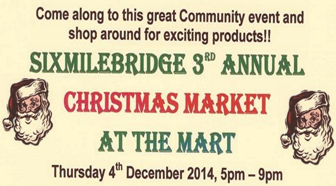 3rd Annual Christmas Market set for 4th December 2014.